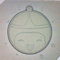 Flexible Resin Mold Adventure Time Princess Bubblegum Themed Mould
