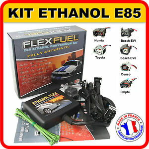 kit ethanol e85 4 cyl flex fuel kit kit de conversion bioethanol e85 ebay. Black Bedroom Furniture Sets. Home Design Ideas