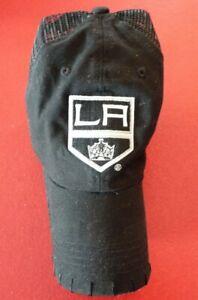 NEW-Nice-Black-Baseball-Cap-Hat-NHL-Los-Angeles-LA-Kings-Logo