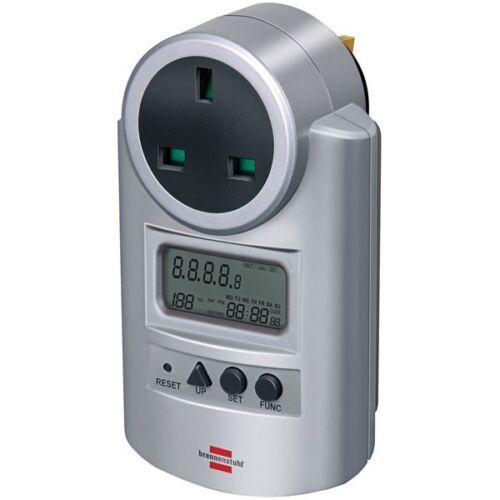 Brennenstuhl Digital 7 Day Weekly Timer UK Plug Socket