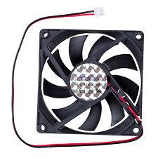 70x70mm 12V 3-Pin PC Computer Case CPU DC Brushless Cooler Cooling Fan J8V6