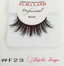 3D Real Mink Eyelashes Makeup Thick Black Eye Lashes #F23