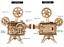 ROKR-Holz-Vitascope-Modellbausaetze-DIY-mechanische-Filmprojektor-Spielzeug Indexbild 3