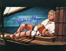 OFFICIAL WEBSITE Virginia Mayo (1920-2005) 8x10 Glossy Photo AUTOGRAPHED