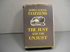 The Just And The Unjust James Gould Cozzens Stated 1st Edition In Dust Jacket
