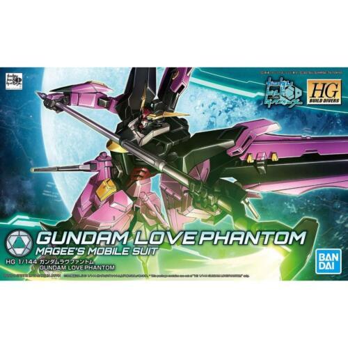 HGBD 1//144 Gundam Love Phantom Model kit Bandai Japan NEW *** 5