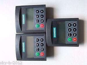 SIEMENS  6SE6400-0BP00-0AA1 Bedienfeld Micromaster 420  NEU