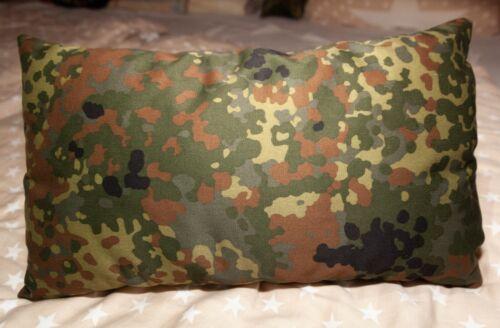 Rechteckig Kissen im Bundeswehr Tarndruck Einsatzkissen,