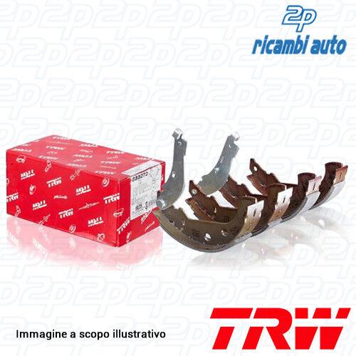 1 TRW GS8566 Set Zapatas de Freno Cambio Manual Completo Fieltro Automáticos Eje