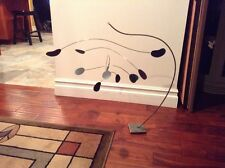 Curtis Jere Metal Mobile  2008 Signed Table Top Sculpture