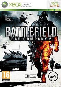 Battlefield-Bad-Company-2-Microsoft-Xbox-360-2010-COMPLETO-GIOCO-CUSTODIA-amp-MANUALE