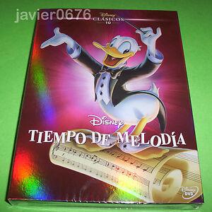 TIEMPO-DE-MELODIA-CLASICO-DISNEY-NUMERO-10-DVD-NUEVO-Y-PRECINTADO-SLIPCOVER