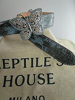 Strass Schließe Schnalle für Wechselgürtel Schraubgürtel von Reptile/'s House neu