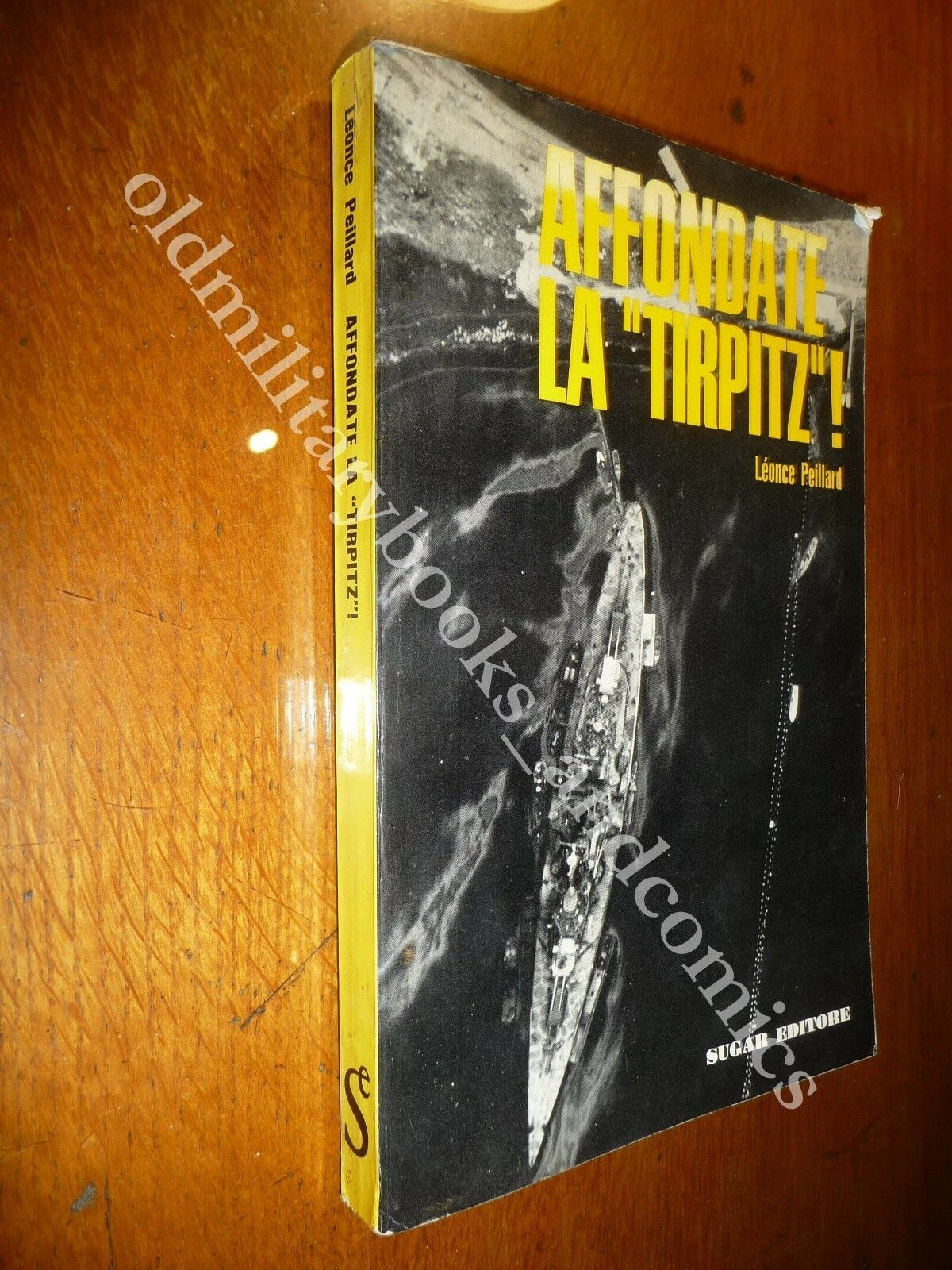 AFFONDATE LA TIRPITZ LEONCE PEILLARD I TENTATIVI INGLESI PER AFFONDARE TIRPITZ