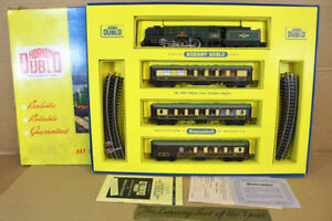 HORNBY-DUBLO-2035-Br-SR-PULLMAN-LOT-TRAIN-4-6-2-Barnstaple-LOCOMOTIVE-34005