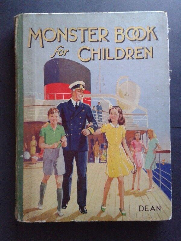 Monster Book For Children - Dean.