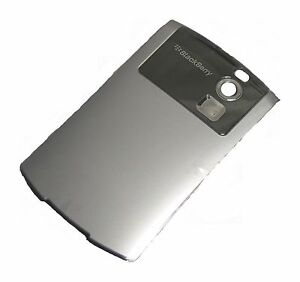 Blackberry-Curve-8300-8310-8320-8330-8350i-Battery-Back-Housing-Cover-Silver