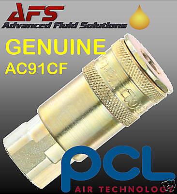 """Pcl Xf Série femelle coupleur 1//4/"""" BSP Filetage Femelle Air Raccord AC71CF"""