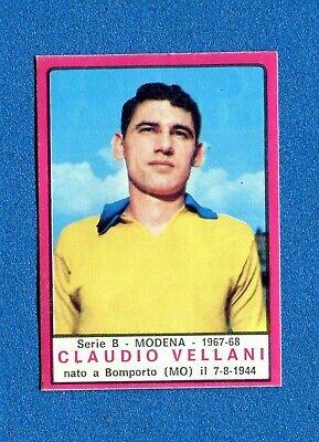 FREZZA MODENA FIGURINA CALCIATORI PANINI 1967//68