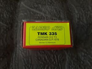 NEW-Tameo-Kits-TMK-335-Ferrari-312T3-Canadia-GP-1978-Willneuve