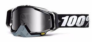 Mirror Racecraft 100 Mirror Cross Black Abyss Glasses Goggles 0x1qSxg
