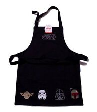Star Wars Apron Black Darth Vader Yoda & Storm Trooper Kid Size W Sonoma