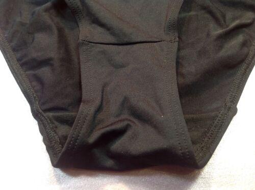 ILUSION Black Soft Silky 93/% cotton Women/'s Panties,bikinis Mexico,size M