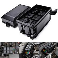 Sicherungskasten 6Relais Halter 5Kfz-Versicherungs Halter mit 5x12V 80A//1X12v 40