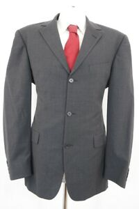 HUGO BOSS Anzug Angelico Parma Gr.52 grau uni Einreiher 3-Knopf -C59