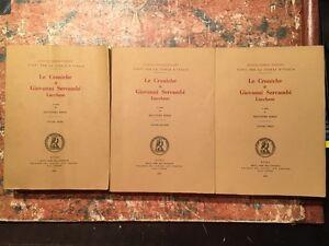 Bongi-Le-croniche-di-Giovanni-Sercambi-lucchese-3-Volumi-Roma-1892-93-1969