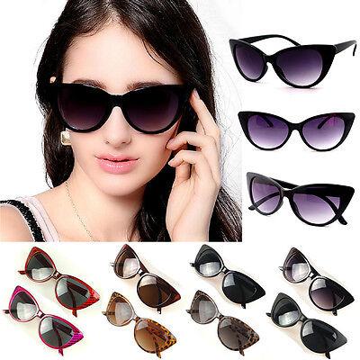 Eyewear Womens Retro Vintage Shades Fashion Oversized Frame Designer Sunglasses