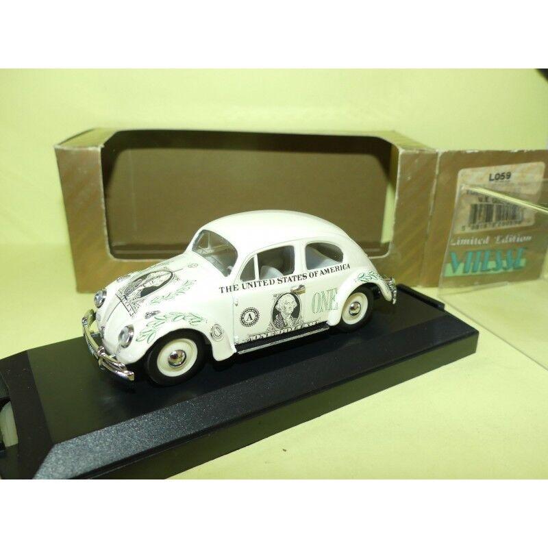 VW COCCINELLE 1200 US DOLLAR VITESSE L059 1 43