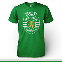 Sporting Clube Portugal Football Soccer T Shirt Uefa Europe Lisboa
