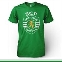 Sporting Clube Portugal Football Soccer T Shirt Uefa Europe Lisboa