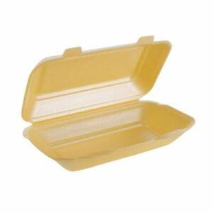 Details about 250 x TT10 Polystyrene Foam Fish & Fries Box, Burger & Chips  Box FP10 HB10