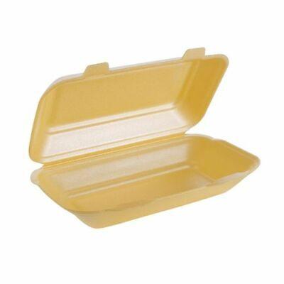 Burger /& Chips Box FP10 HB10 250 x TT10 Polystyrene Foam Fish /& Fries Box