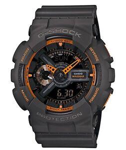 Casio-G-Shock-GA110TS-1A4-Gshock-Watch-Dark-Grey-Neon-Orange-COD-PayPal