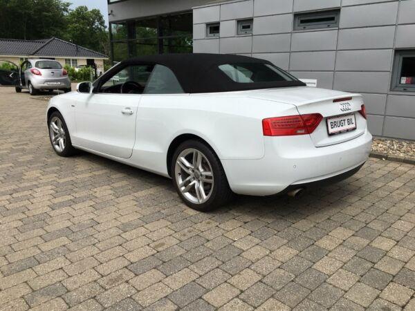 Audi A5 1,8 TFSi 170 Cabriolet Multitr. - billede 3
