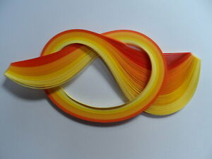Paper Quilling Strips Red 53cm x 5mm Pack of 110+