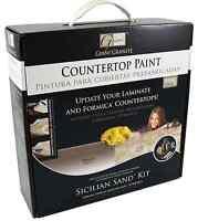 Granite Sicilian Sand Laminate Formica Corian Ceramic Tile Countertop Paint Kit