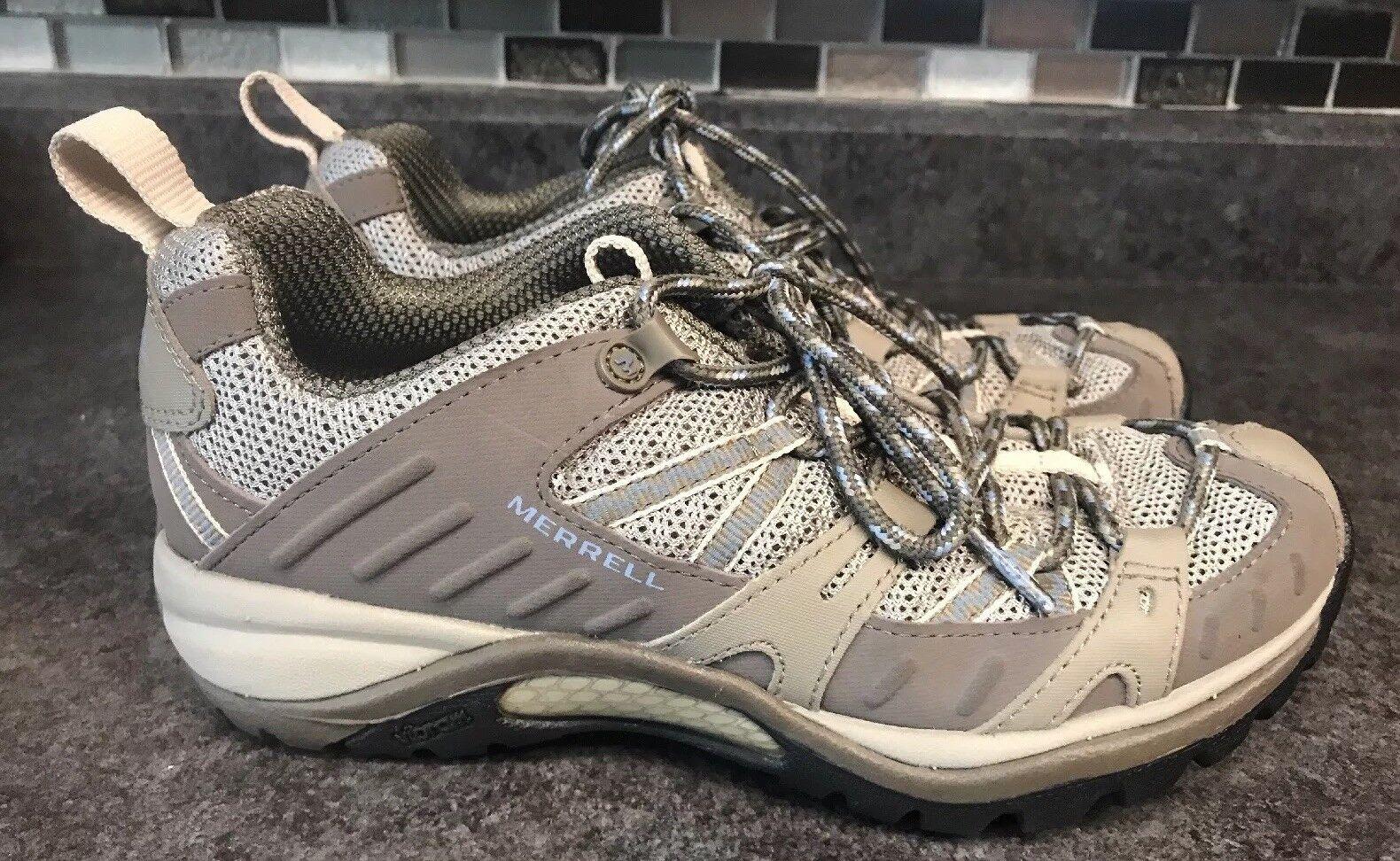 Women's Merrell Moab Dusty Olive WP Waterproof Trail Hiking shoes Size Sz US 6.5