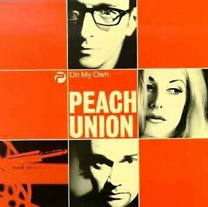 On-My-Own-Peach-Union-FACTORY-SEALED-CASSETTE-Single