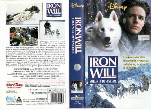 IRON WILL - VOLONTA' DI VINCERE (1993) VHS DISNEY