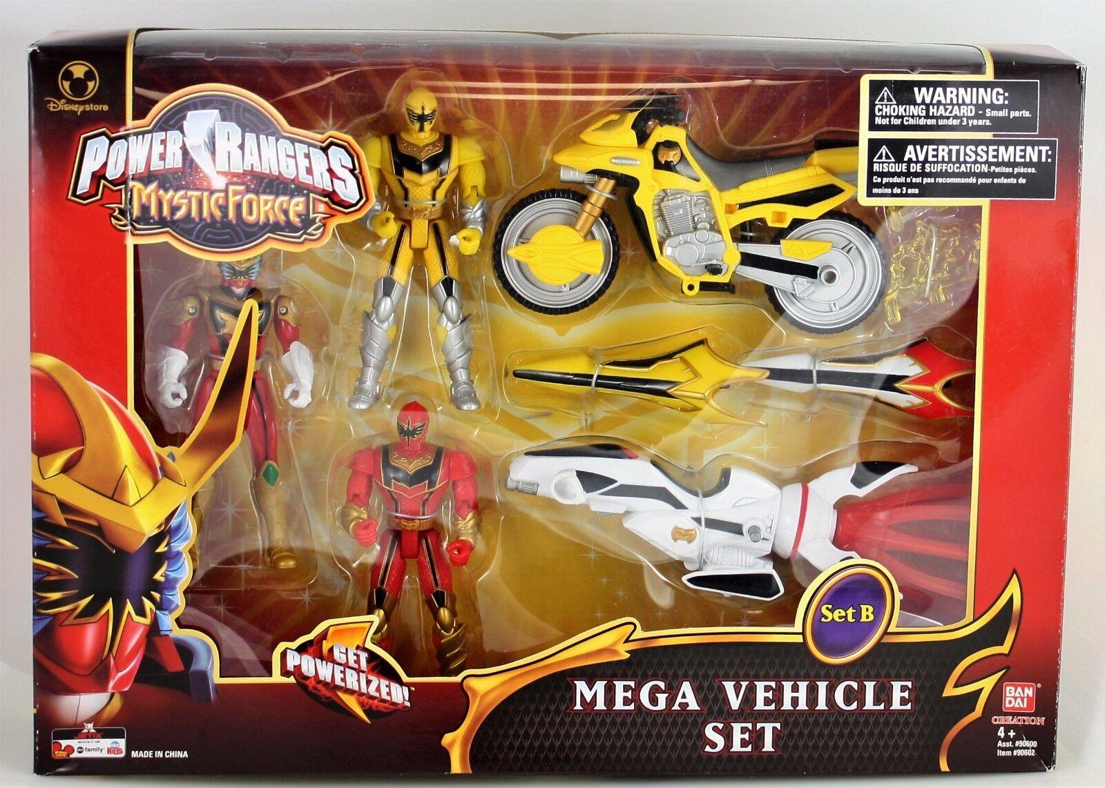 Power Rangers Mystic Force Mega Vehicle Set B