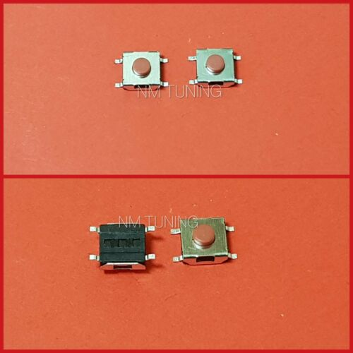 2x Taster Mini-Taster Mikrotaster Drucktaster Eingabetaster 6x6x3.1 mm Rot