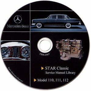 mercedes benz oldtimer fintail w111 w110 w112 service manual repair rh ebay co uk Mercedes-Benz W112 Mercedes-Benz W114 W115