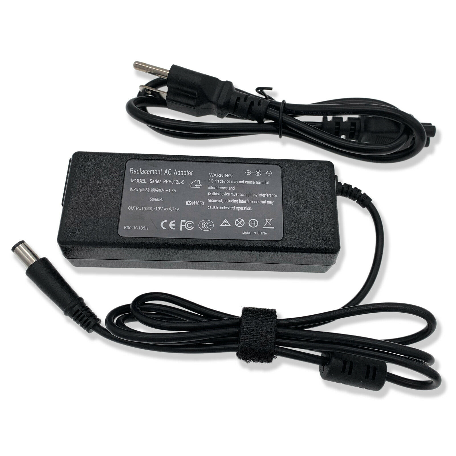 HP Compaq 6450B 4540S 4710S 4440S 6910P 8510 6710B 6710S Laptop Charger AC Adapter Power Supply Cord