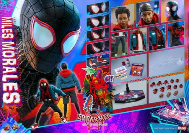 Spider-Man Into the Spider-Verse Miles Morales 6 inch Action Figure