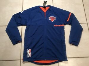 NWT ADIDAS New York York XL Knicks NBA On 6300 Court Warm Up Jacket XL de los hombres 0664879 - rogvitaminer.website