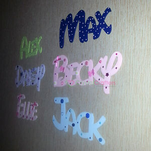 Personalised wooden disney name wall door letters home for Decoration 5 letters